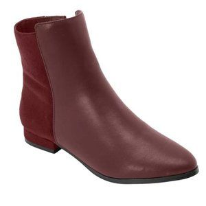 *NWT*The Adrianne Bootie by Comfortview® in  Dark Brown